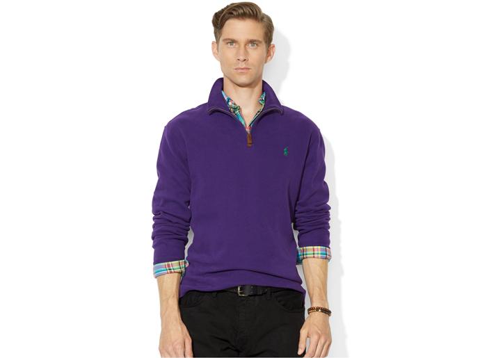 Half Zip Neck Pullover