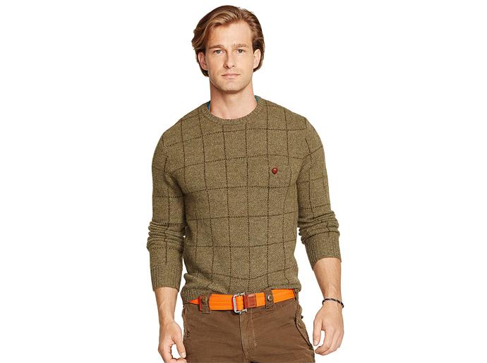 Print Olive sweater
