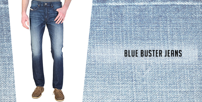 Blue Buster Jeans:Diesel jeans