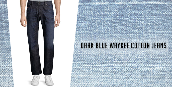 Dark Blue Waykee Cotton Jeans: Diesel jeans