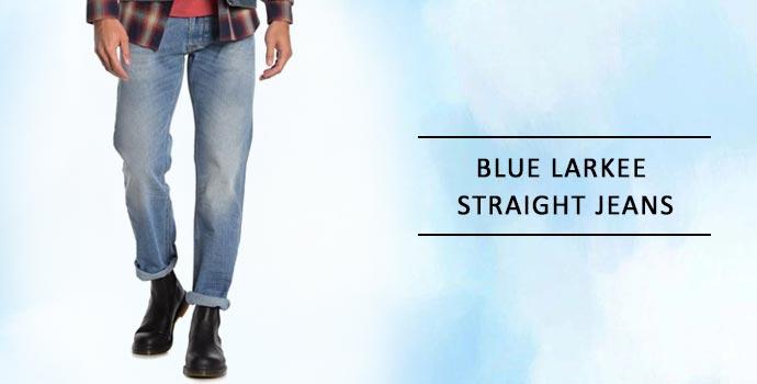 DIESEL Blue Larkee Straight Jeans
