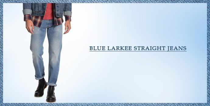 DIESEL Blue Larkee Straight Jeans