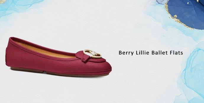 Michael Kors Berry Lillie Ballet Flats