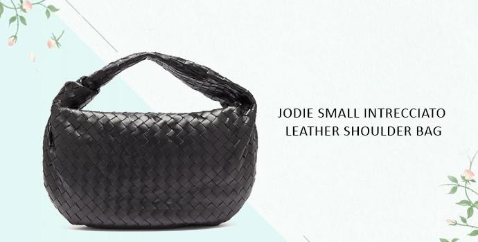 Jodie Small intrecciato leather shoulder bag