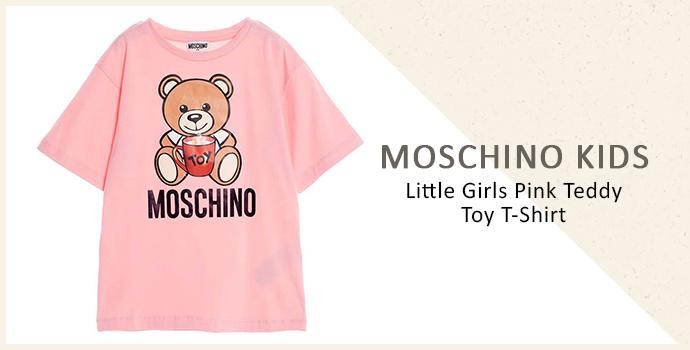 Moschino Kids little girls t-shirt