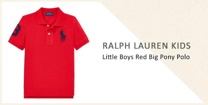 Ralph Lauren Kids little boys polo