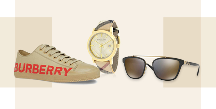 Look stunning with Burberry