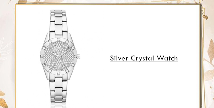 Silver Crystal  DKNY watches online