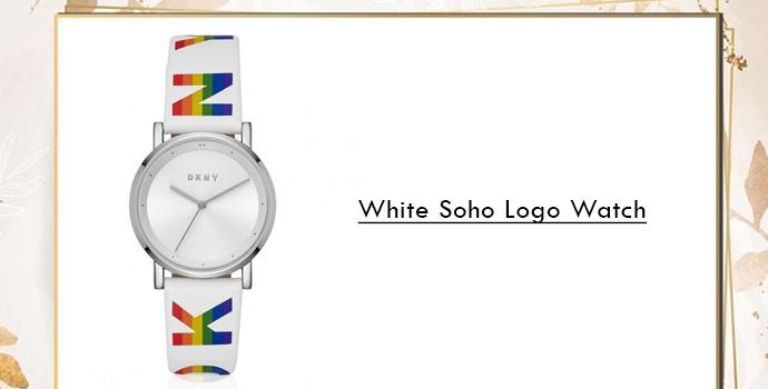 DKNY soho logo watches