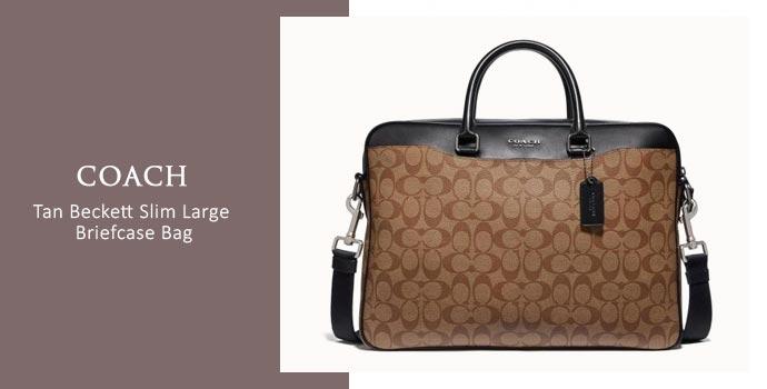 Coach Briefcase Bag
