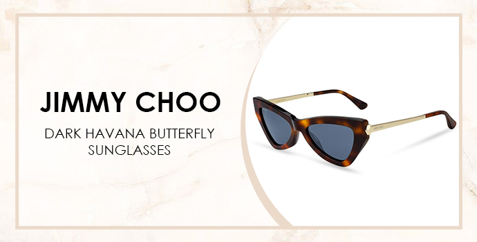 Jimmy Choo havana sunglasses