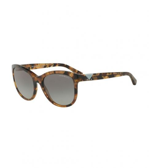 311d8d1da44fb Emporio Armani Havana Spot Luxury Sunglasses for Women Online India ...