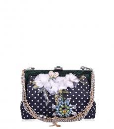 aad138626d Dolce   Gabbana Black Vanda Medium Shoulder Bag